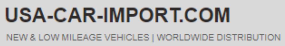 USA Car Import